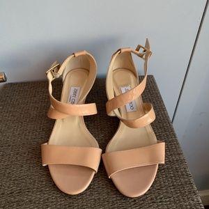 Jimmy Choo Cream Sandals